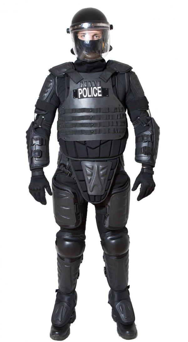 ED100 crowd control suit