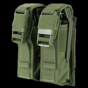 condor double pouch green